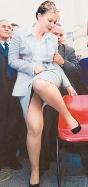 ножки Юлии Тимошенко