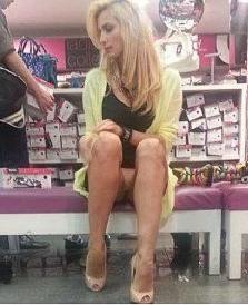 Татьяна Котова засвет в магазине